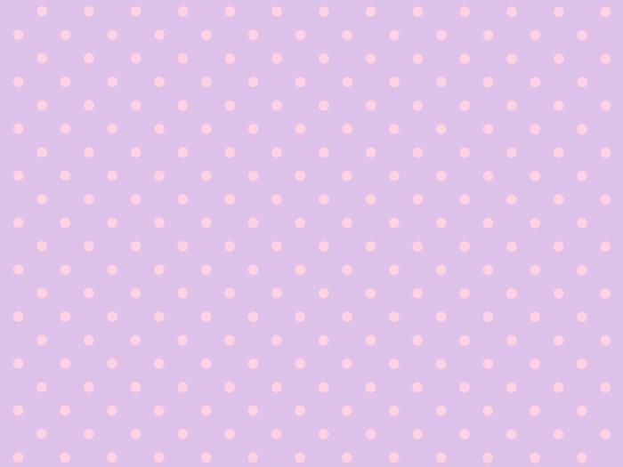 ピンクの水玉の素材