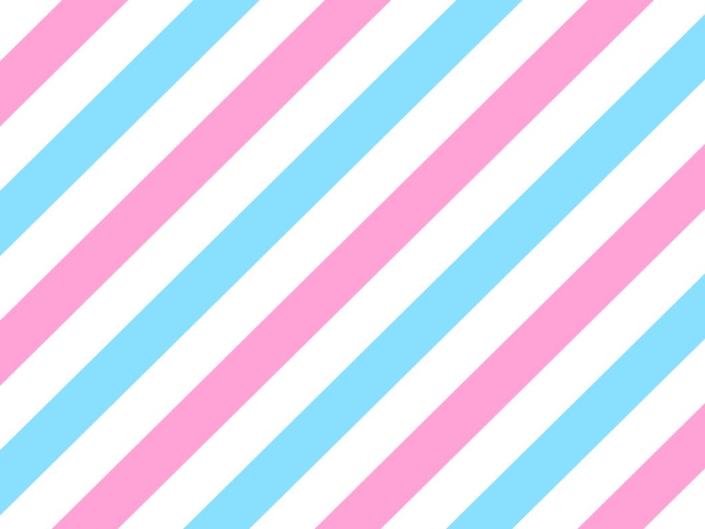 ピンクと水色の斜めストライプ