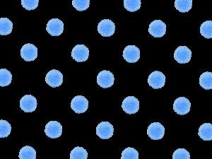 青色のドット素材