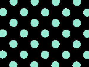 水色の水玉の水彩イラスト素材