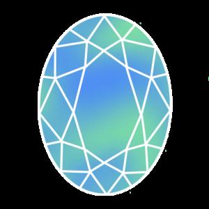宝石のイラスト素材