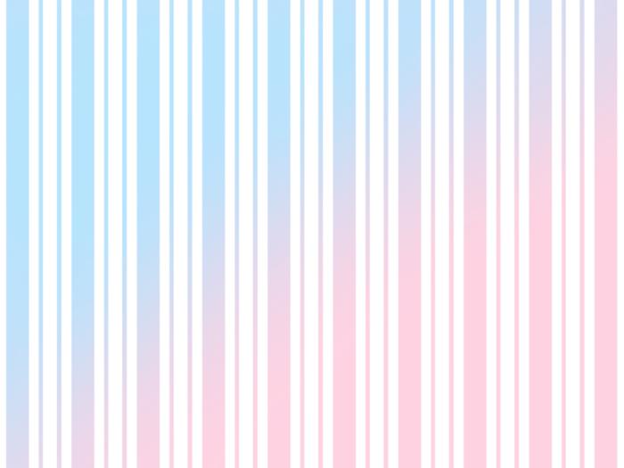 ピンクと水色のストライプ素材