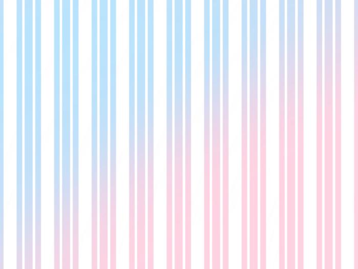 水色とピンクのストライプ素材