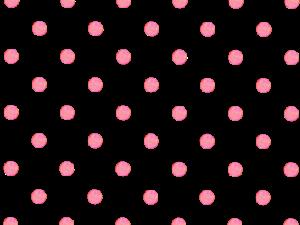 ピンクの水玉イラスト素材