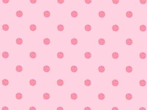 ピンクの水玉の背景素材