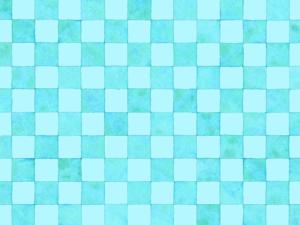 市松模様の水彩素材