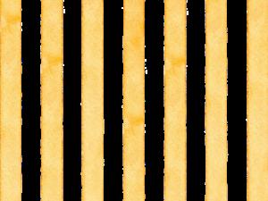 黄色のストライプの水彩素材