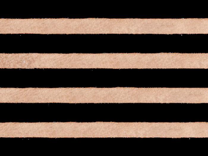 茶色の水彩のボーダー素材