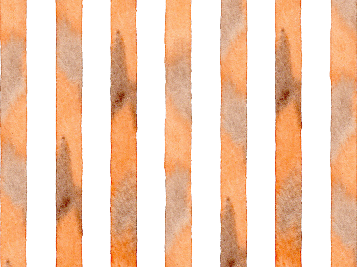 水彩のストライプ素材
