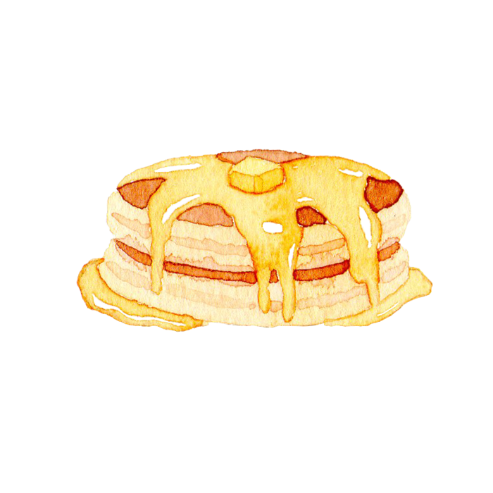 ホットケーキの素材