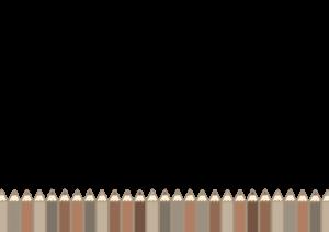 色鉛筆のイラスト素材