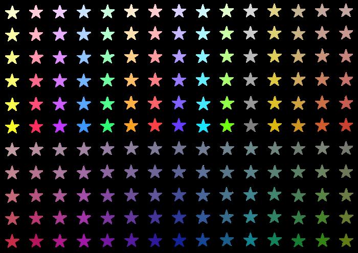 小さい星のイラスト素材