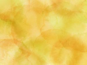 オレンジと黄色の水彩風テクスチャー