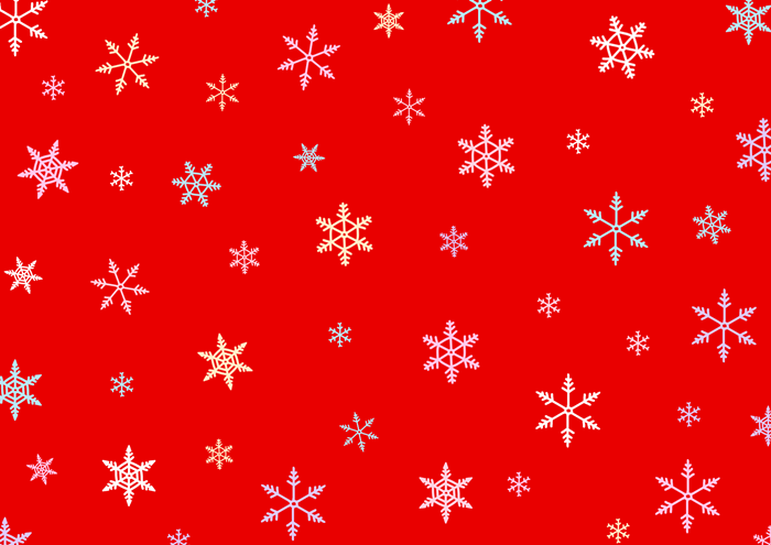 雪の結晶の素材
