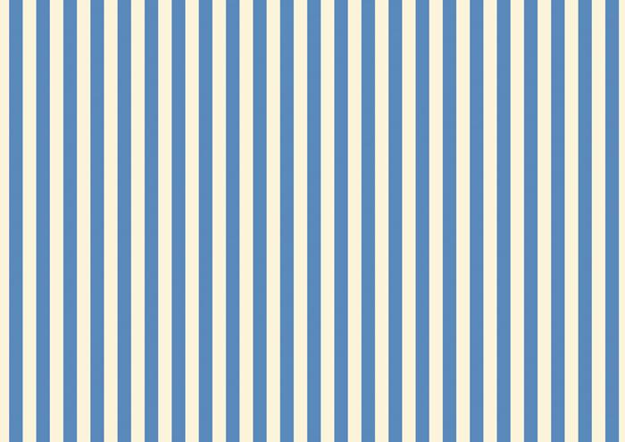 青とベージュのストライプ素材