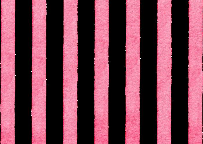 赤のストライプの水彩素材