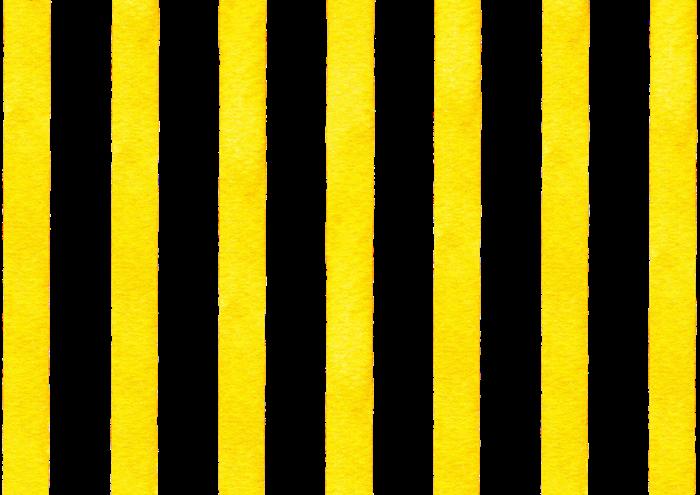 黄色の水彩のストライプ素材