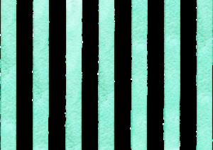 緑色の水彩のストライプ素材