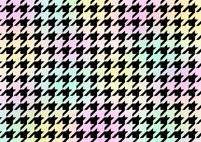 パステルカラーの千鳥格子の素材