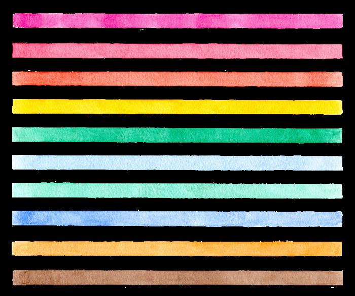水彩の素材