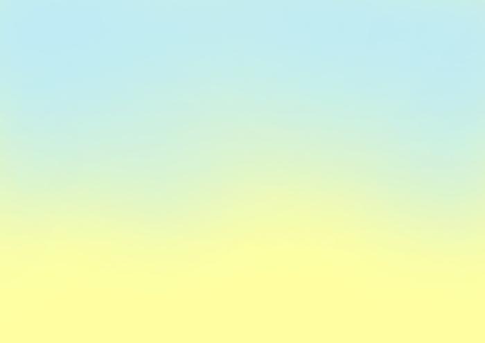 黄色と水色のグラデーション素材