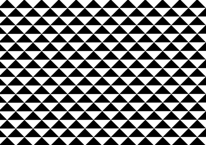鱗模様の線画素材