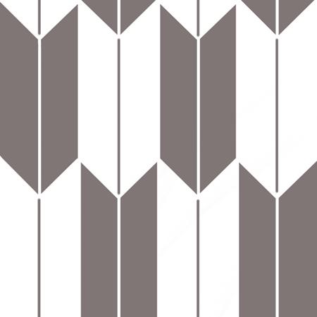 白色の矢絣の線画素材