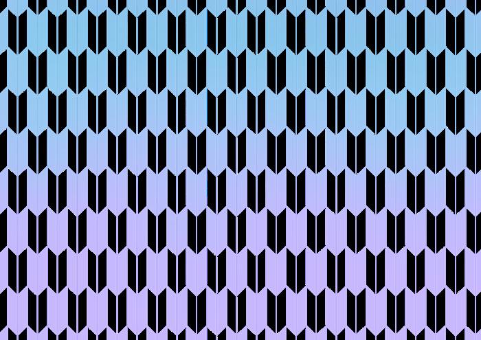 矢絣のイラスト素材
