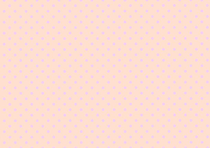 紫色の水玉素材