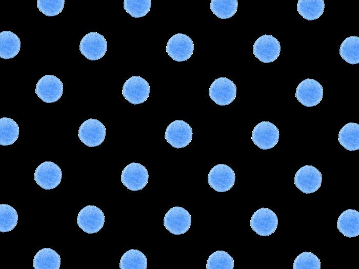 水色の水玉イラスト素材