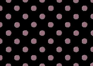 紫の水玉の水彩イラスト素材