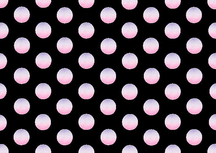 水玉の色鉛筆画素材