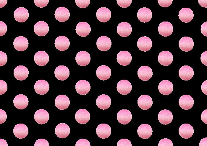 水玉の色鉛筆素材