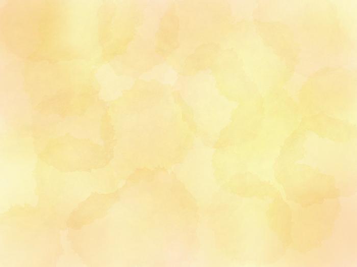 黄色の水彩風テクスチャ素材