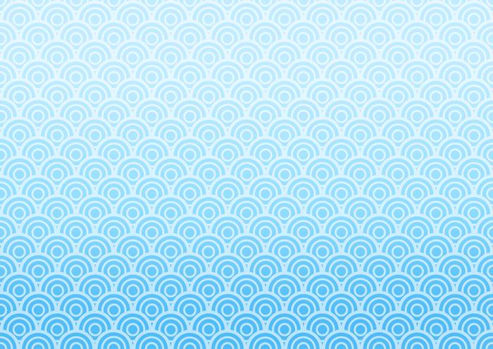 青海波のイラスト素材