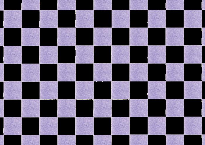 紫色の市松模様の素材