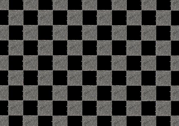 黒の市松模様の素材
