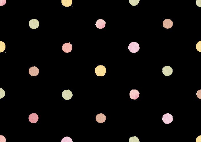 秋色の水玉素材