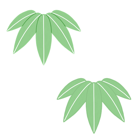 笹のイラスト素材