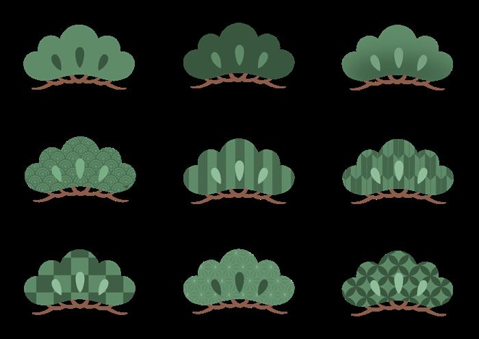 松のイラスト素材